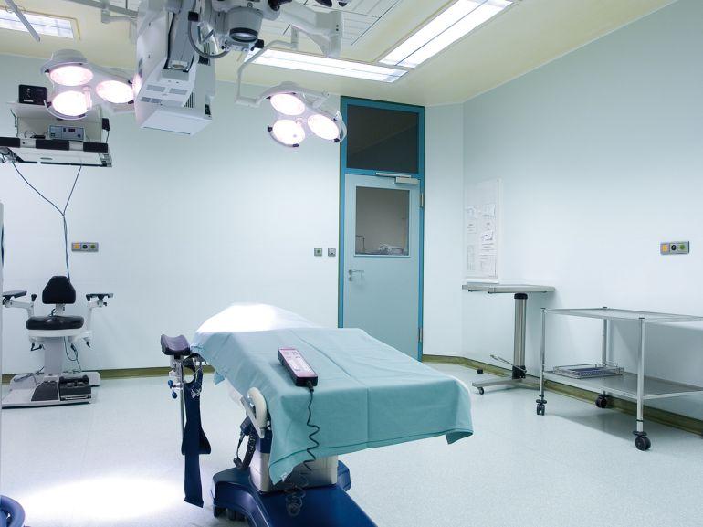 Tapet fibra de sticla Systex Confort in sali de operatii